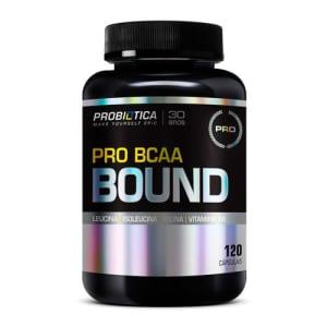 Pro Bcaa Bound (120caps) Probiótica Nova Embalagem