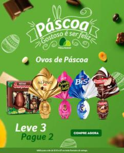 LEVE 3 E PAGUE 2 - Ovos de páscoa no Pão de Açucar!