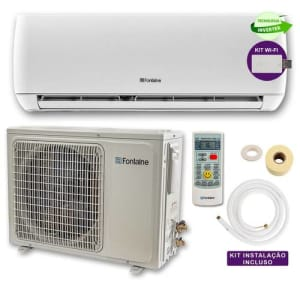 Ar Condicionado Split Hi Wall Inverter Com Kit Wi-fi 12.000 Btus 220 V Frio (100136) – Fontaine