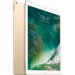 "iPad Pro Cellular 256GB Wi-Fi 4G Tela Retina 12,9"" Dourado - Apple"