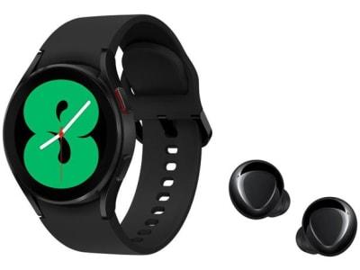 Confira ➤ Smartwatch Samsung Galaxy Watch4 BT Preto – 40mm + Fone de Ouvido Bluetooth Galaxy Buds+ ❤️ Preço em Promoção ou Cupom Promocional de Desconto da Oferta Pode Expirar No Site Oficial ⭐ Comprar Barato é Aqui!