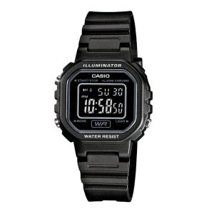 Relógio Casio Feminino Preto Digital LA-20WH-1BDF