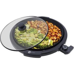 Grill Redondo Fun Kitchen Smart Toast Preto - 1200W