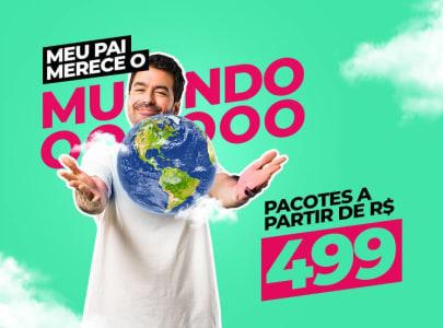 Pacotes de Viagens 2021 a Partir de R$499,00 - Aéreo + Hospedagem!