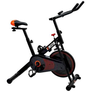 Bicicleta Spinning Residencial Kikos F3 c/ Monitor - Preto
