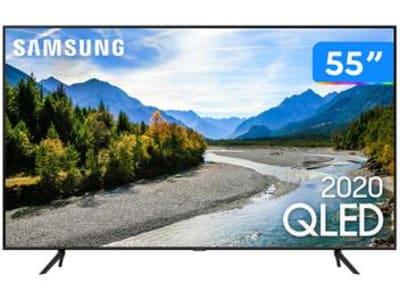 """Smart TV 4K QLED 55"""" Samsung 55Q60TA - Wi-Fi Bluetooth HDR 3 HDMI 2 USB"""