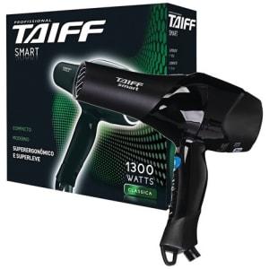 Secador de Cabelos Taiff Smart Motor AC Profissional e 5 Temperaturas 1300W - Preto