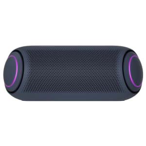 Caixa de Som Portátil LG Xboom Go PL7 Meridian Bluetooth Surround 24 Horas Bateria IPX5 Comando de Voz - 30W