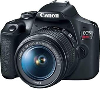 Câmera Digital EOS T7 Ef-S 18-55 F/3.5-5.6 Is II, Canon, Preto