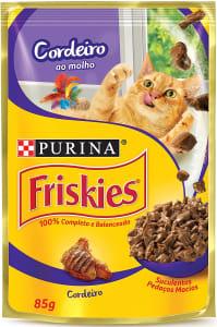 4 unidades Ração Úmida para Gatos Adultos Frango e Fígado Nestlé Purina Friskies - 85g