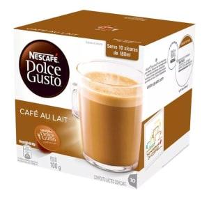 (Retirar na Loja) Capsula Cafe Au Lait 100g Dolce Gusto