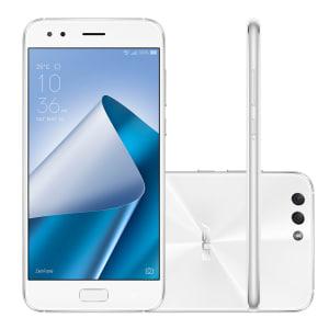 Oferta ➤ Smartphone Asus Zenfone 4 ZE554KL-6B057BR 64GB White 4G Tela 5.5″ 12MP Android 7.0   . Veja essa promoção