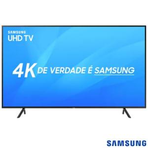 Oferta ➤ Smart TV 4K Samsung LED 2018 UHD 43 com HDR Premium, Tizen, Wi-Fi, Tudo em uma Tela, 3 HDMI e 2 USB – UN43NU7100 – SGUN43NU7100_PRD   . Veja essa promoção