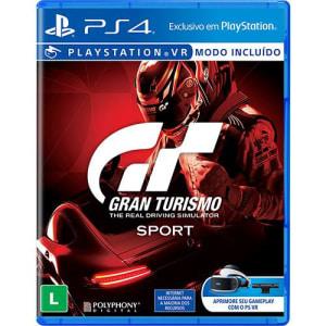 Game - Gran Turismo Sport - PS4
