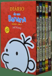 Box - Diário De Um Banana - 5 Volumes - Pocket - Edição Econômica - Vol. 1