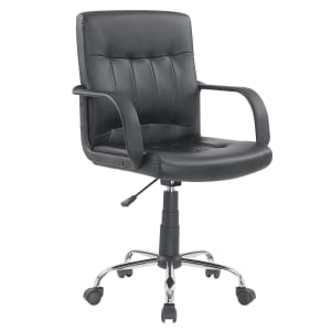 Cadeira para Escritório Carrefour Home Preta ML-2431-2