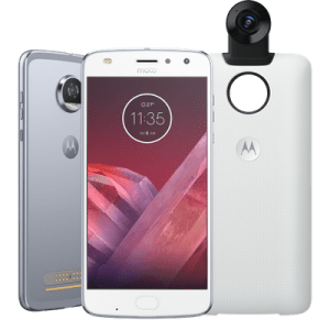 "Smartphone Motorola Moto Z2 Play - 360 Camera Edition XT1710-07 5.5"" 64GB 12MP 4G Azul Topázio"