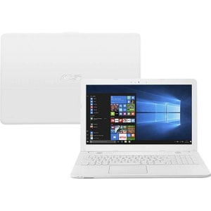 "Notebook Asus Vivobook Max X541NA-GO472T Intel Celeron Quad Core 4GB 500GB Tela LED 15,6"" Windows - 10 Branco"