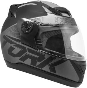 Pro Tork Capacete Evolution G7 Fosco 60 Preto/Cinza