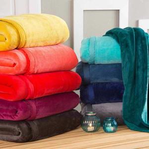 Cobertor Casal Flannel Hit com Borda em Percal - Casa & Conforto