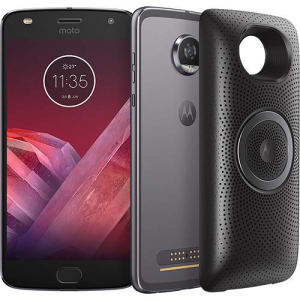 "Smartphone Motorola Moto Z² Play - Stereo Speaker Edition Dual Chip Android 7.1.1 Nougat Tela 5.5"" Octa-Core 2.2 GHz 64GB 4G Câmera 12MP Platinum"