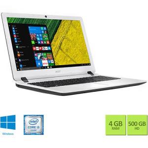 Oferta ➤ Notebook ES1-572-347R Intel Core I3 4GB 500GB Tela 15,6 Hd W10 Branco – Acer   . Veja essa promoção