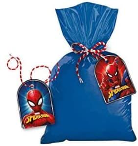 Tag Com Cordao R319 Spider Man Animacao - Pacote Com 08 Un Regina Colorido