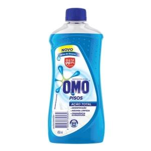 Desinfetante Para Uso Geral Brisa Do Oceano Omo Pisos Frasco 450ml