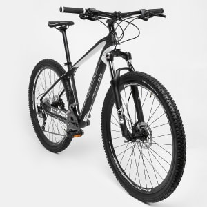 Bicicleta Gonew Endorphine 10.3 Carbon Shimano Alivio 3 x 8 Marchas - Aro 29 - Preto e Branco