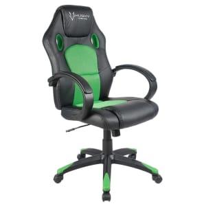 Cadeira Gamer Husky Snow Black Green HSN-BG