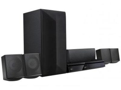 Home Theater LG LHB625M c/Blu-Ray 3D c/ DVD - 1000W 5.1 Canais Wireless Conexão HDMI USB - Magazine Ofertaesperta