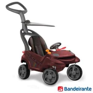 Carrinho de Passeio Smart Baby Comfort para Passeio, Passo a Passo e Primeiros Passos Vinho - Bandeirantes - ZB532VNH_PRD