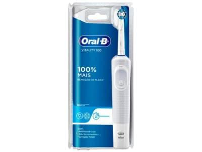 Escova de Dente Elétrica Oral-B - Vitality Precision Clean - Magazine Ofertaesperta