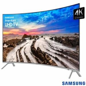 """Smart TV 4K Samsung Curva LED 55"""" com Smart Tizen e Wi-Fi - UN55MU7500GXZD - SGUN55MU7500"""
