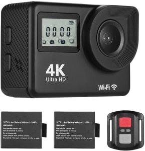 Câmera de Ação 18MP 170 ° Grande Angular 2.0 Polegada Tela LCD