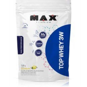 Top whey 3w mais performance - 1,8 KG -max titanium