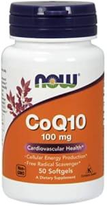 Coq10 100mg (50 softgels) - Now Sports