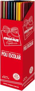 Cromus Papel Celofane 16238 Surtido, Embalagem Pode Variar, Multicores, 100 Folhas