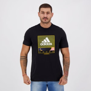 Camiseta Adidas Future Hoops Preta