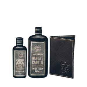 Oferta ➤ Kit Shampoo QOD Black + Loção Pós Barba + Carteira – PretoKit Shampoo QOD Black + Loção Pós Barba + Carteira – Preto   . Veja essa promoção