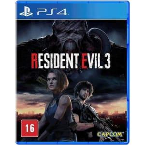 Jogo Resident Evil 3 Ps4 Mídia Física