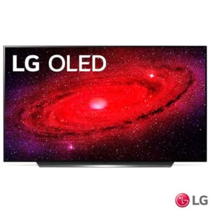 "Smart TV LG 65"" 4K OLED65CX HDR WiFi Bluetooth Inteligência Artificial ThinQAI Smart Magic Google Alexa"