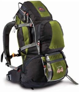 Mochila Crampon 44 - Verde com Preto