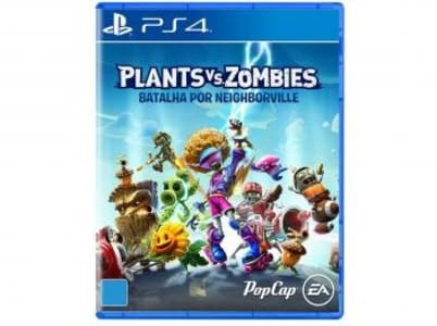 Plants vs. Zombies: Batalha por Neighborville - para PS4 PopCap - Magazine Ofertaesperta