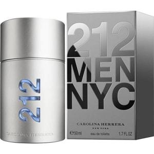 212 Men Eau de Toilette 50ml - Carolina Herrera