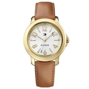 Relógio Tommy Hilfiger Feminino Couro Marrom - 1781754 0d7d4bda42