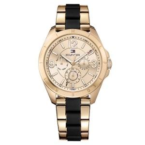 Relógio Tommy Hilfiger Feminino Aço Rosé e Borracha Preta - 1781770