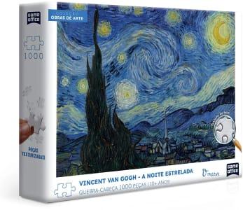 Quebra-Cabeça Toyster Vincent Van Gogh: A Noite Estrelada - 1000 Peças
