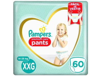 Fralda Pampers Premium Care Pants Calça Tam. XXG - 14 a 25kg 60 Unidades - Magazine Ofertaesperta