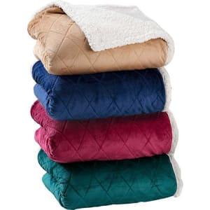 Cobertor Casal Sherpa Duo - Casa & Conforto